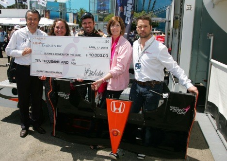 Eric Bachelart, Sonja Ness Stockton, Alex Tagliani, Lisa Wolter, and Jason Priestley