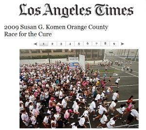 LA Times Komen
