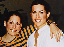 Sisters Susan and Nancy