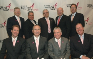 Pink Tie Guys at the 2008 Pink Tie Ball
