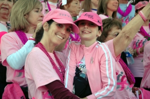 Mother and daughter at 2007 Survivor Tribute