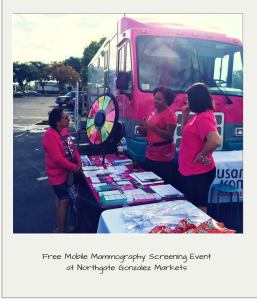 Free Mammograms at Northgate Gonzalez Markets