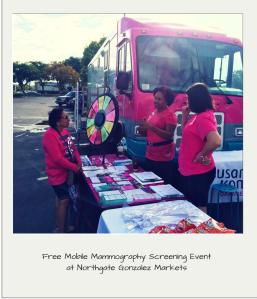Free Mammograms at Northgate Gonzalez Markets