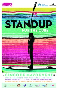 Standup for the Cure poster